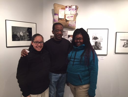 Gracie Martinez, Floyd Gibson and Emani Rogers at the