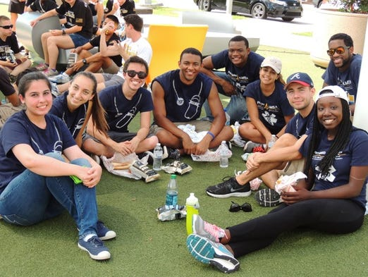 Volunteers lend their time for UCF's Knights Give Back