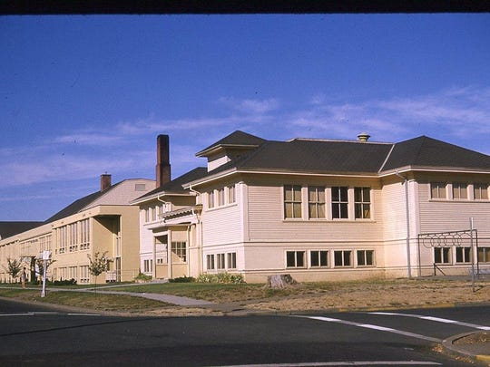 West Salem Elementary School is shown in this undated photo. The school opened in 1911 and closed in 1986.