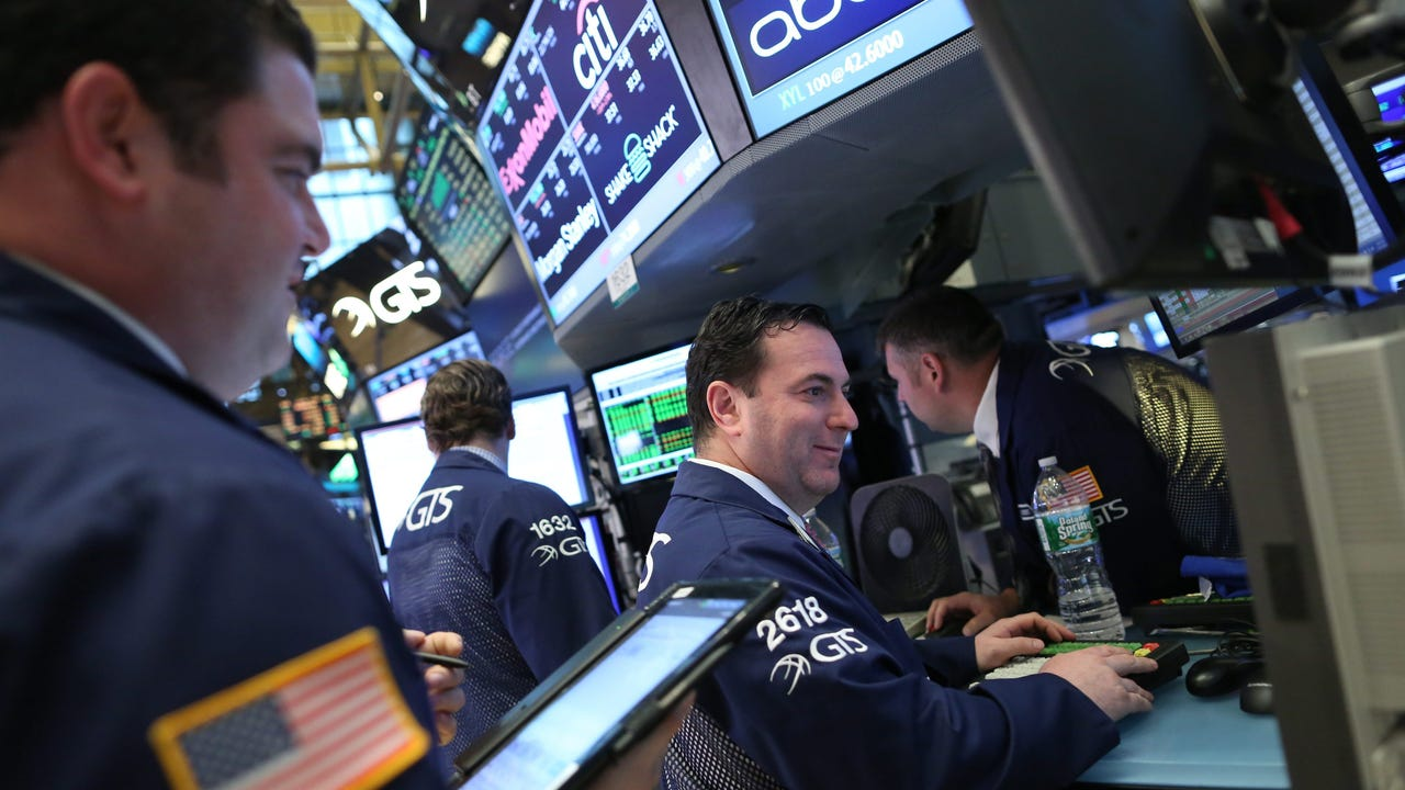 U.S. stocks gained steam on Monday, following declines of more than 1 percent last week. Halliburton's merger with Baker Hughes is dead, both companies announced on Sunday.