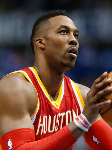 Dwight Howard is averaging 44.58 fantasy points through