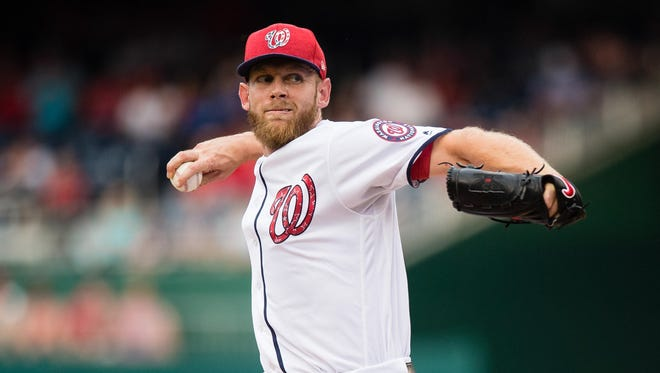Stephen Strasburg lasted just two innings in his most recent start.