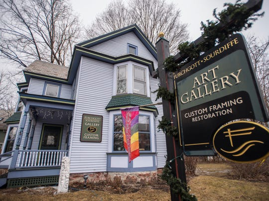 The Furchgott-Sourdiffe Gallery on Falls Road in Shelburne.