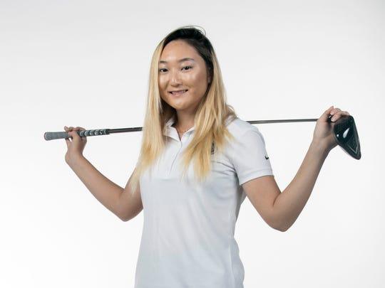 Brittany Shin, Golf, Canterbury
