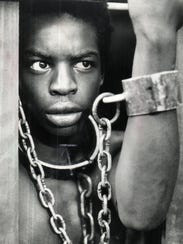 """LeVar Burton in a scene from the original """"Roots"""" miniseries"""