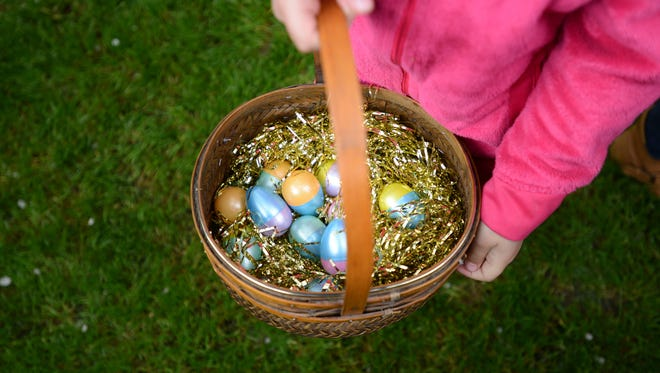 Kids can hunt for eggs at a number of Easter events in the area.
