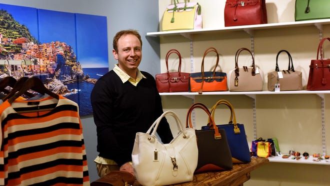 Luca Papini, owner of Go to Italy, is moving his boutique to the boardwalk next to Aviena and K Restaurant at the 8th & Railroad Center.