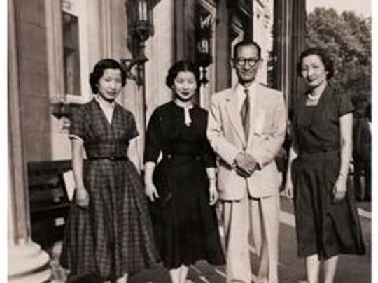 Mi-Ai Parrish's grandfather, mother and aunts.