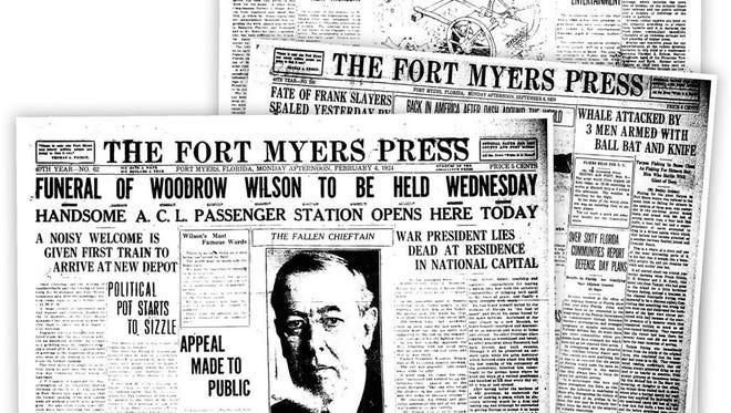 Top headlines of 1924