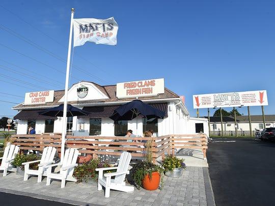 Matt's Fish Camp near Lewees, SoDel's newest restaurant, opened this summer.
