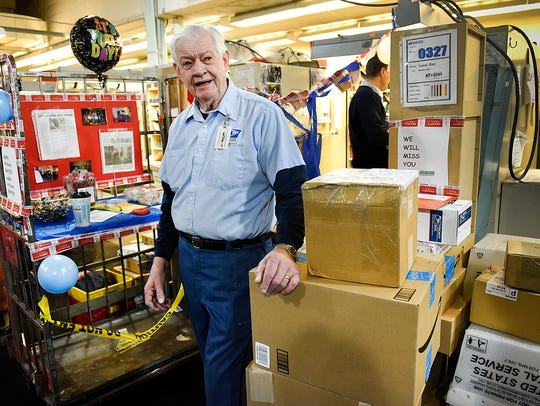 Ray Lund, 79, talks about his 56 years as a Postal