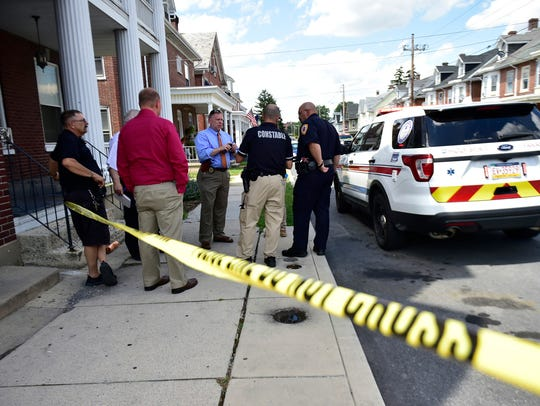 Chambersburg police are investigating a shooting that