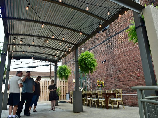 The Barrel House held a grand opening at its 39 North Third Street, Chambersburg, location. The Barrel House is Chambersburg's newest premier events and wedding space.