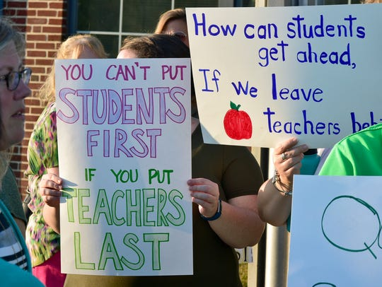 Chambersburg Area Education Association, a teacher's