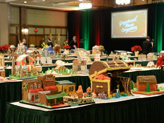 The 25th annual Gingerbread House Competition was held at the Grove Park Inn November 20, 2017 in Asheville.