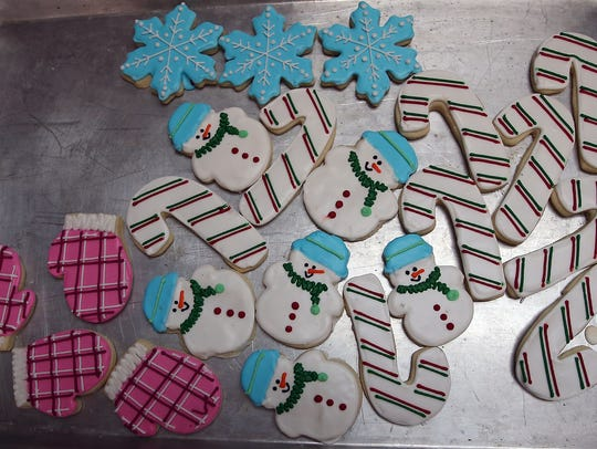 The holiday season provides a boost to cookie sales at Sugar Studio.
