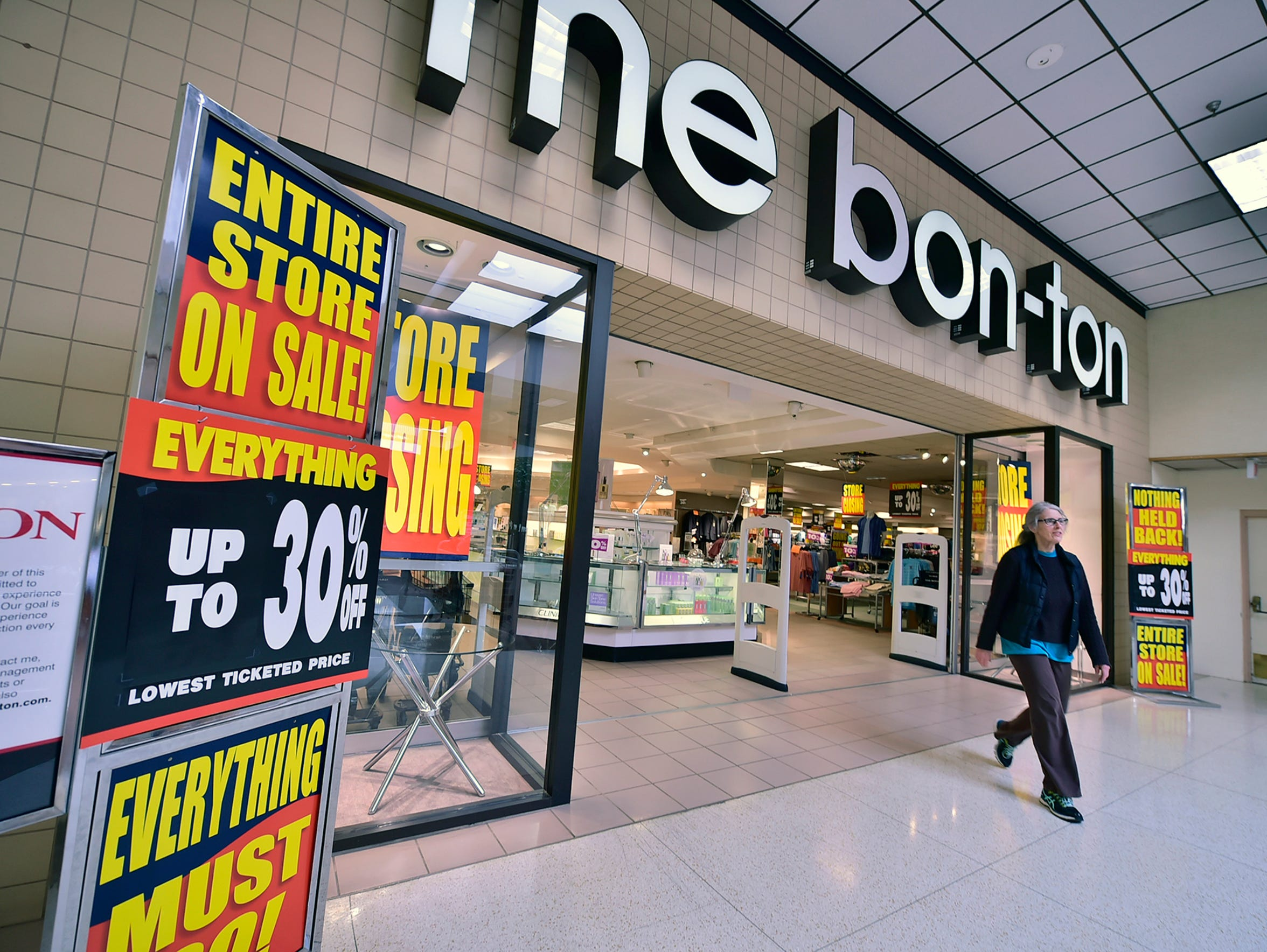 Bon-Ton is closing and many anchor stores have left