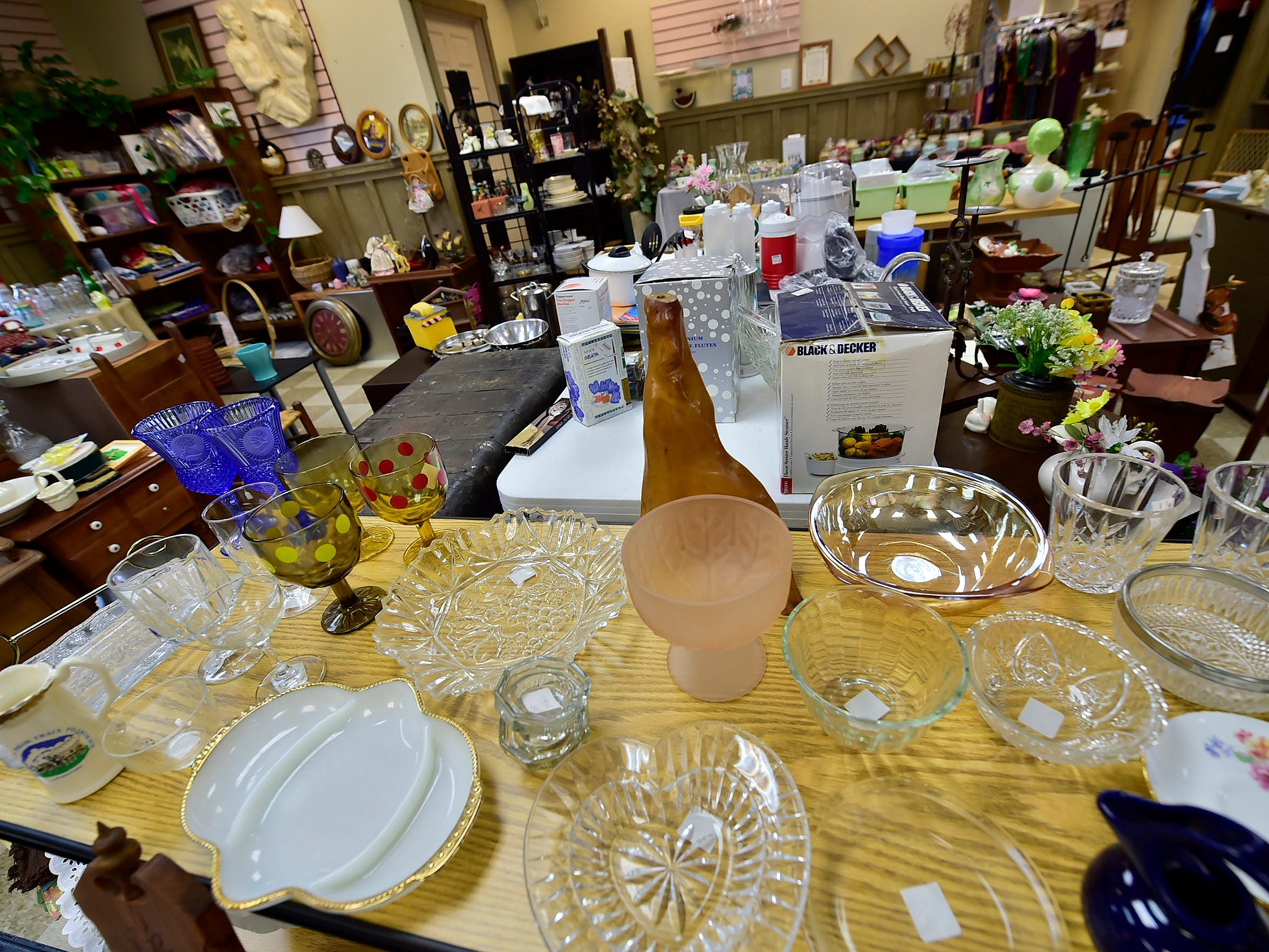 Upscale Consignment Shop is located at 24 W. Franklin Street, Greencastle.