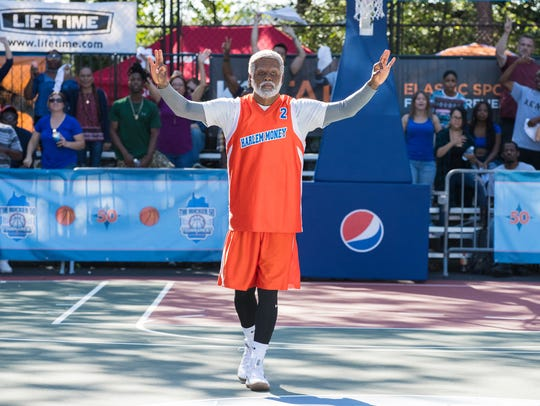 "Kyrie Irving plays the title character in ""Uncle Drew."""