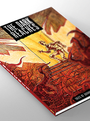 """The cover for graphic novel """"The Dark Reaches: Volume"""