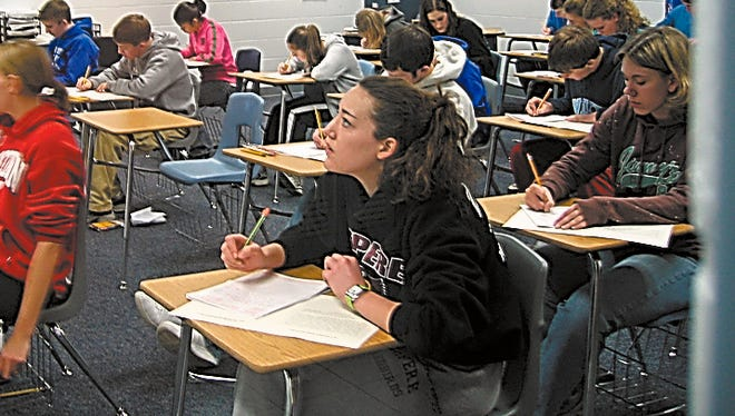 Wisconsin high school students would have to pass the test to graduate.