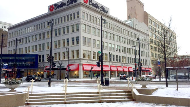 The redevelopment of downtown Milwaukee's Boston Store building would become more difficult if Bon-Ton Stores Inc. is liquidated. Bon-Ton operates corporate offices at the building.