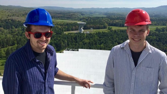 Hillsdale College graduates Cody Jessup and Daniel Halmrast are among others who joined in research of a 15-year dataset from NANOGrav.