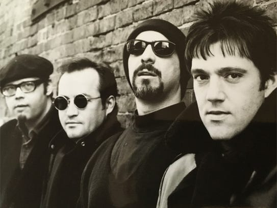A classic shot of the Smithereens: From left: Dennis