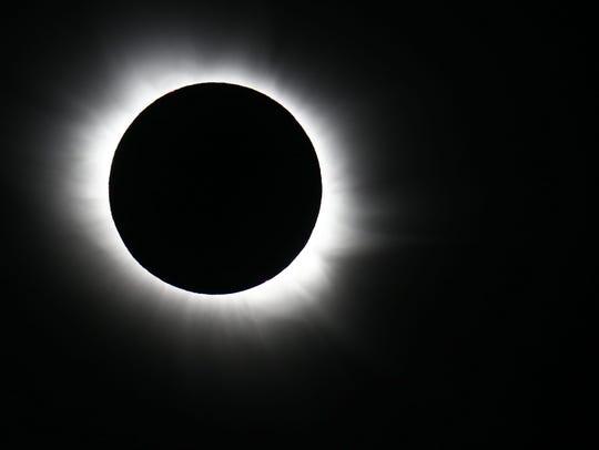 A total solar eclipse can be seen in Svalbard, Longyearbyen,