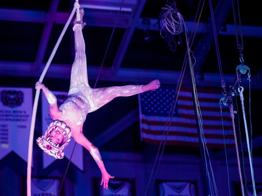 The Carden International Circus will have two showings in San Angelo on Thursday.