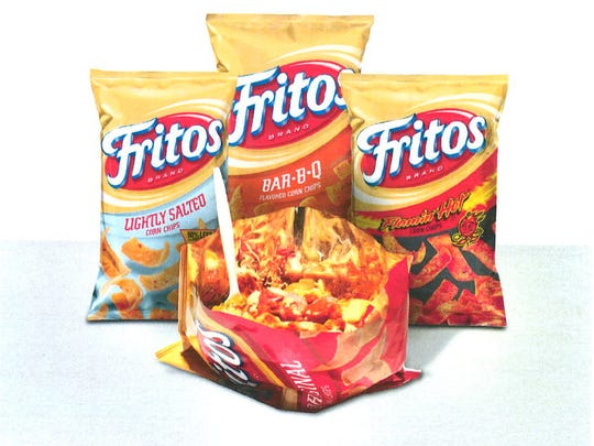 Your hot dog gets chopped up and dropped in a bag of Fritos with The Slopper, a very Mexican dish.