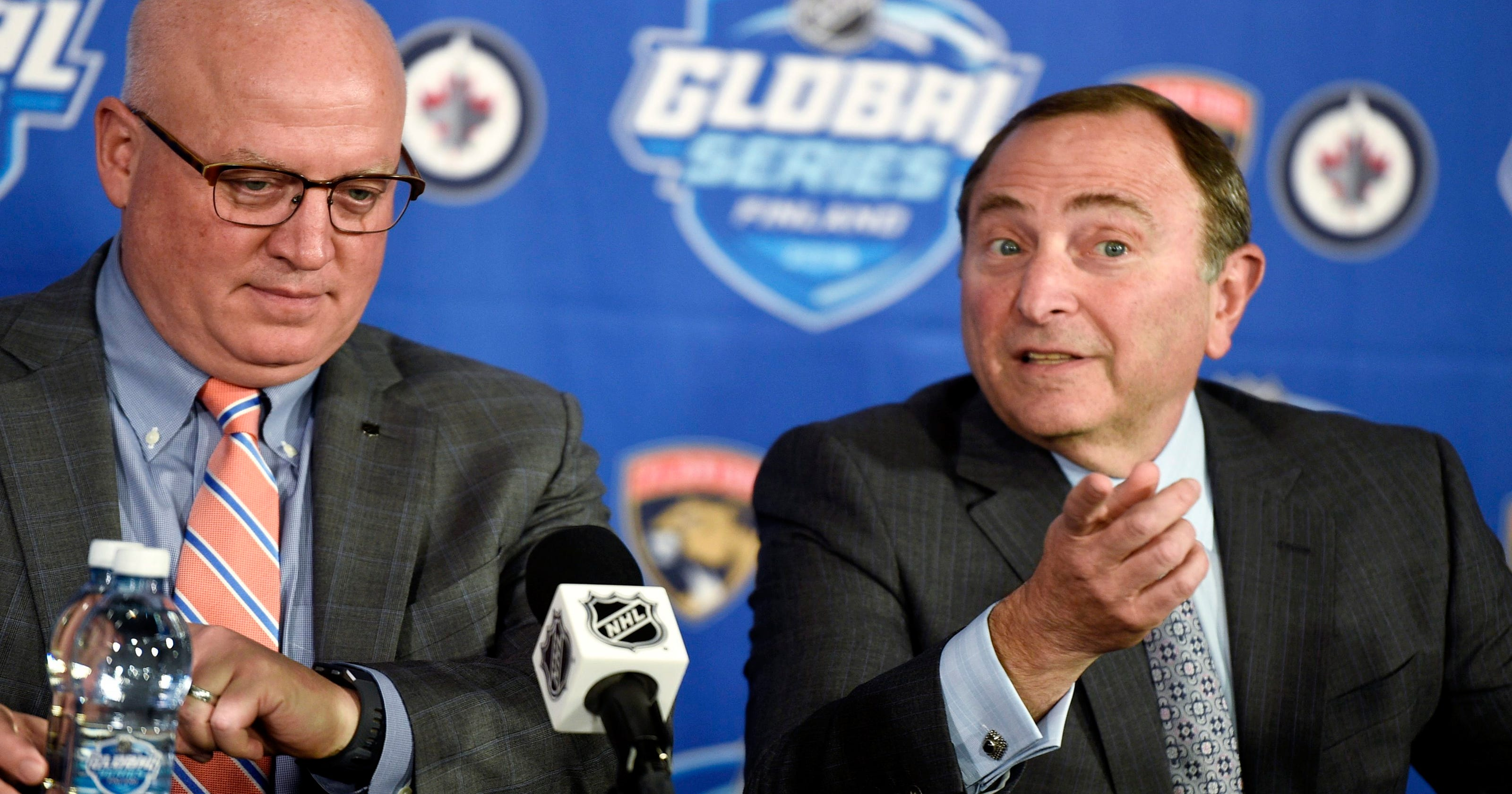 Gary Bettman  NHL will play in Europe  Olympic return not looking good 1057d1ab9