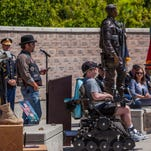Triple Deuce honored in Wreath Laying Ceremony