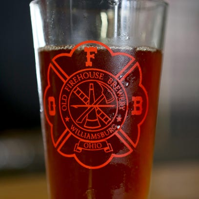 Beer from Old Firehouse Brewery in Williamsburg will be available throughout the state of Ohio beginning Tuesday.