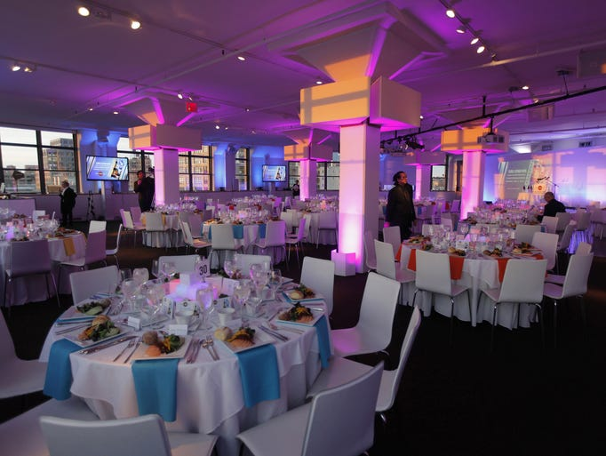 The Light & Motion Gala at Threesixty before the arrival of guests on May 5, 2014.
