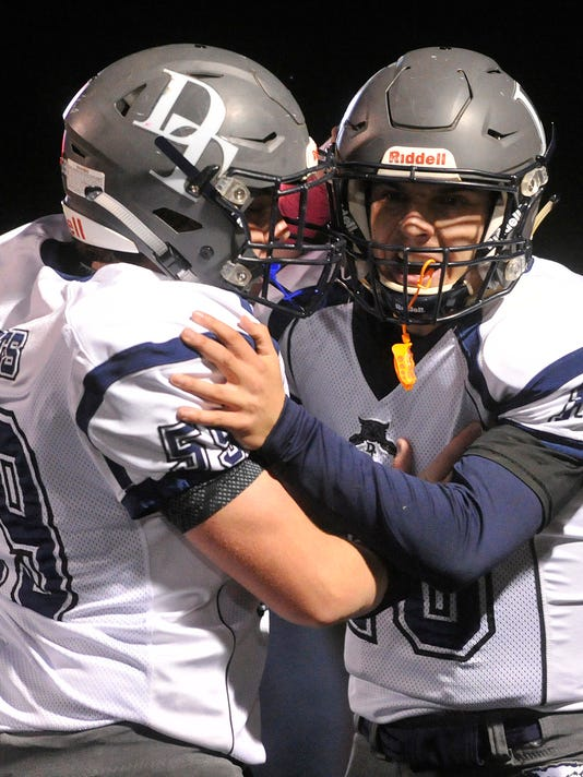 The Dallastown Wildcats have done plenty of celebrating this season, winning their first nine games of the year. (Jason Plotkin - GameTimePA.com)