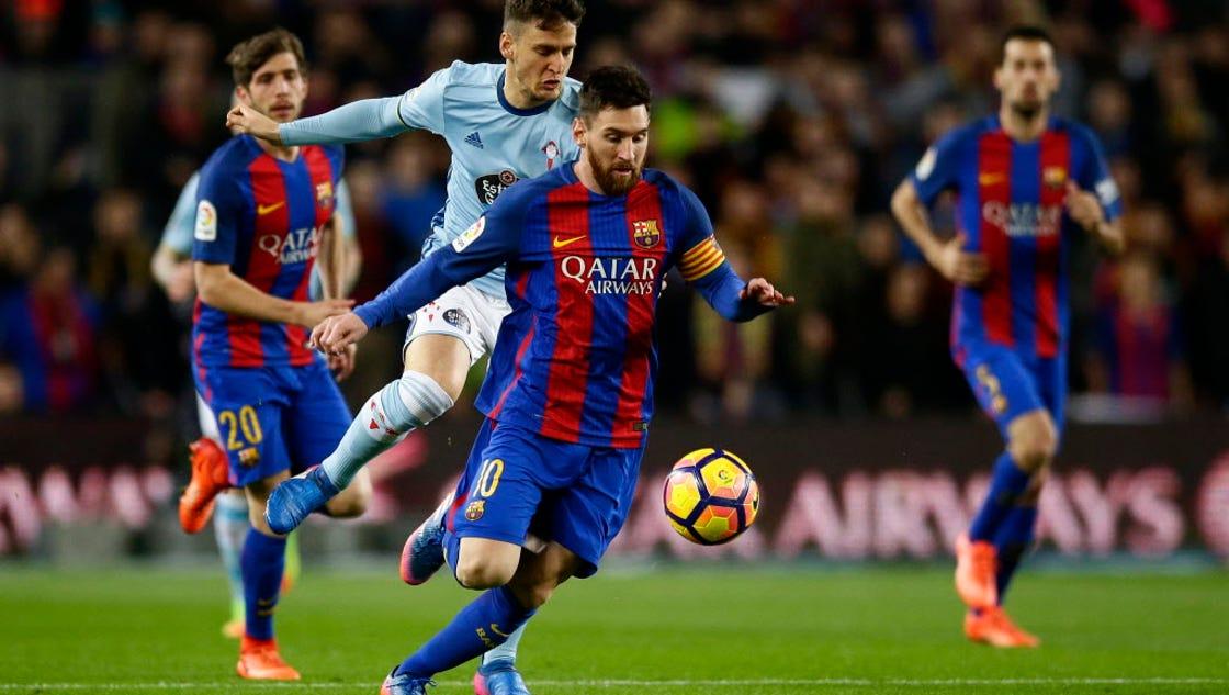 Barcelona routs celta vigo ahead of champions league match vs paris saint germain - Firefly barcelona ...