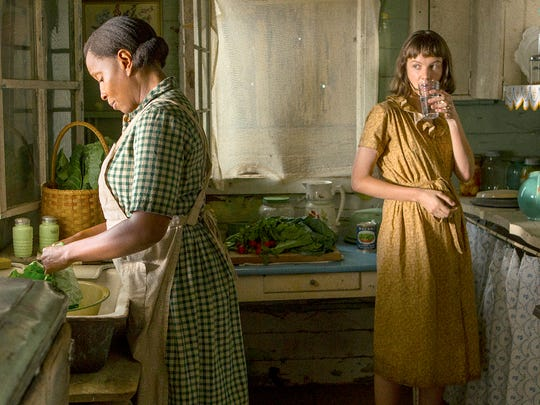 "Mary J. Blige and Carey Mulligan in ""Mudbound."""
