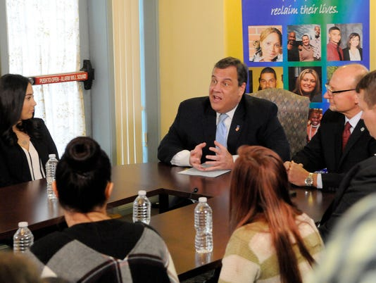 Christie Signs Executive order on opoid addiction