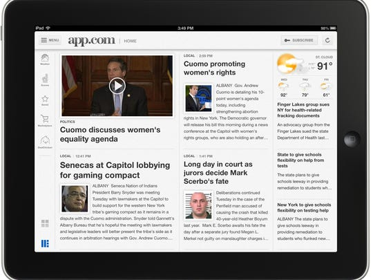 The Asbury Park Press and APP.com are launching a new tablet app for iPads and Android tablets. It is expected to be released in the app stores by May 16, 2014.