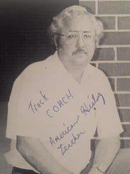 Former Shanks runner Marvin McMillan still has a photo