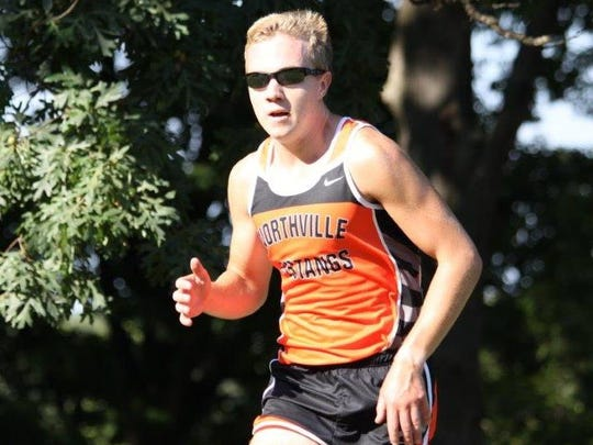 Northville senior Ben Cracraft was the individual 5,000-meter winner in 16:27 in a 27-28 dual meet loss to Novi.
