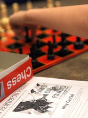 Paws On Pawns is a chess club that meets every Thursday
