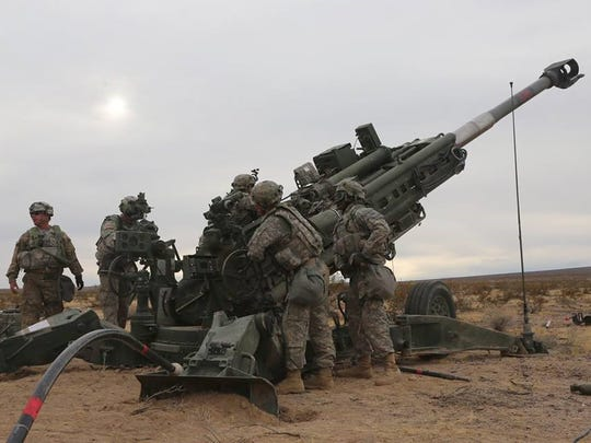 Soldiers with 2nd Battalion, 3rd Field Artillery Regiment