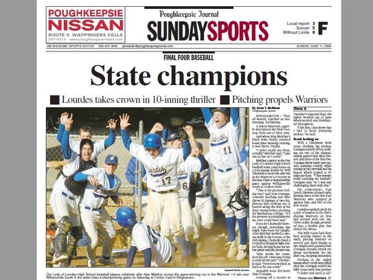 Our Lady of Lourdes' state baseball championship was