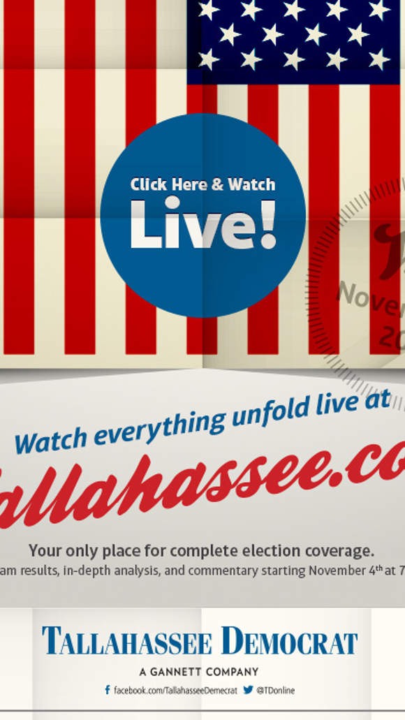 Watch our coverage throughout the day and then tune in at 7 p.m. for our LIVE Election Night news and analysis.