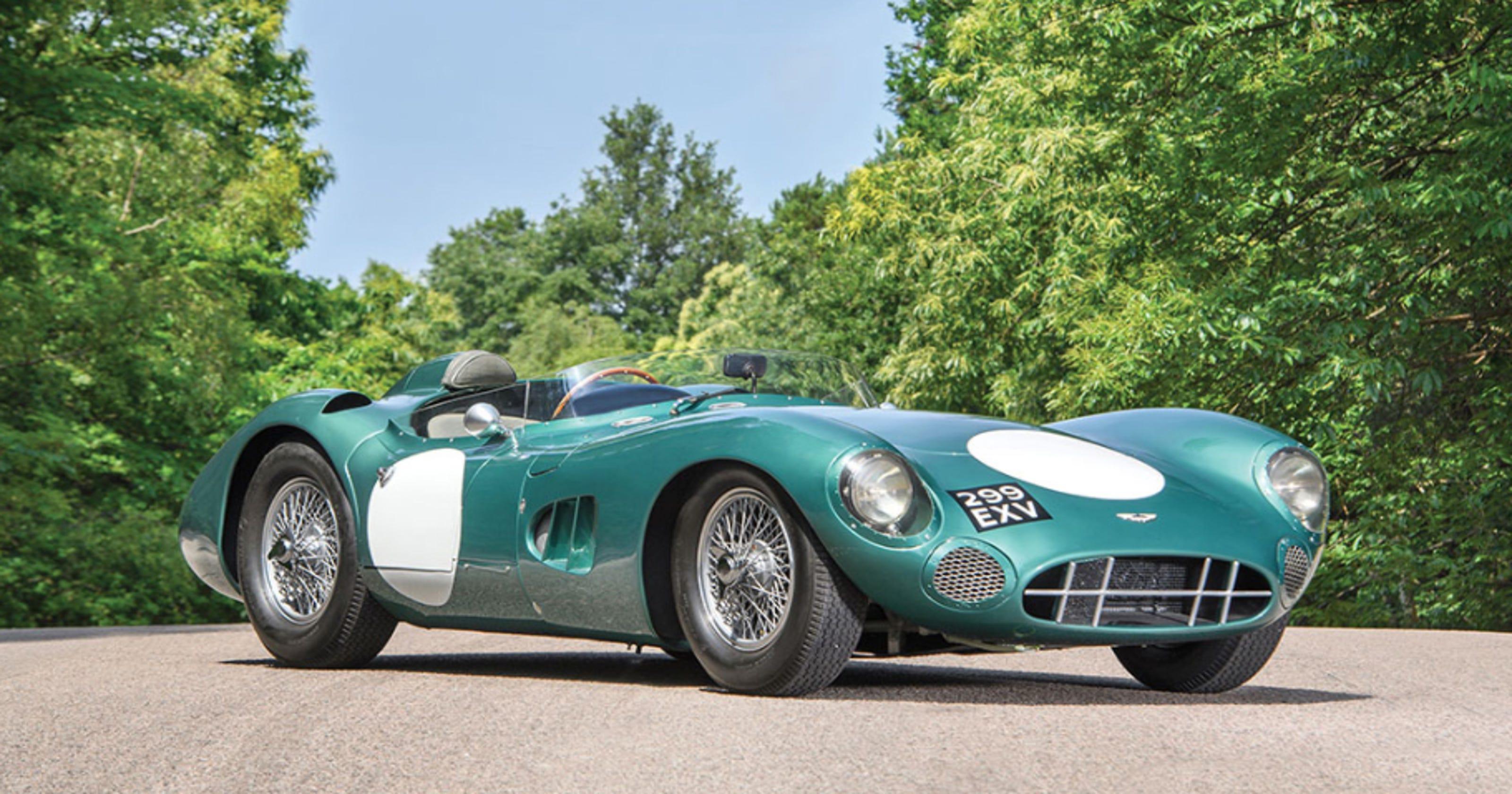 Rare Classics Exotics Sell At Calif Car Auctions