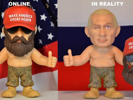Chuck Williams' latest doll is a disguised version