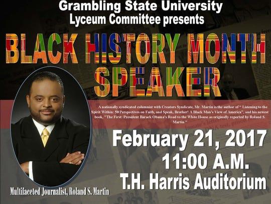 Grambling State University Lyceum Committee presents