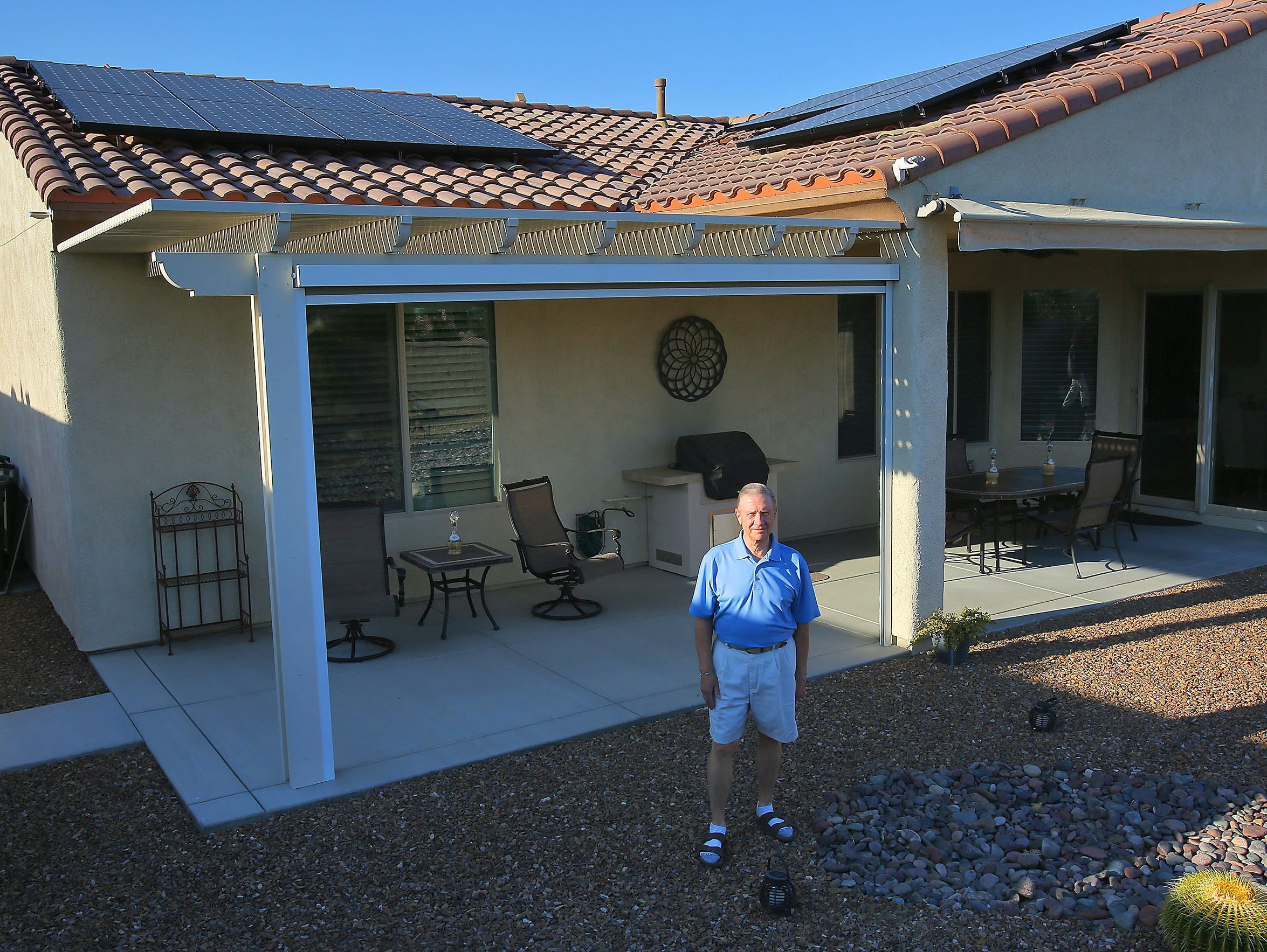 Indio resident Paul Nelson was stuck in limbo for several months in 2016, after the Imperial Irrigation District abruptly closed net metering to new customers, making it unclear whether Nelson and many others would be able to afford their newly installed solar panels.